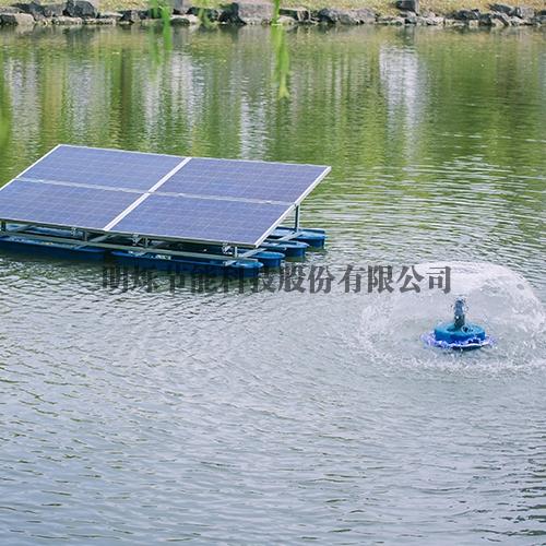 肇庆太阳能水下增氧机