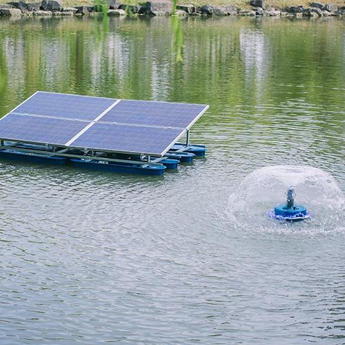 太阳能水下增氧机