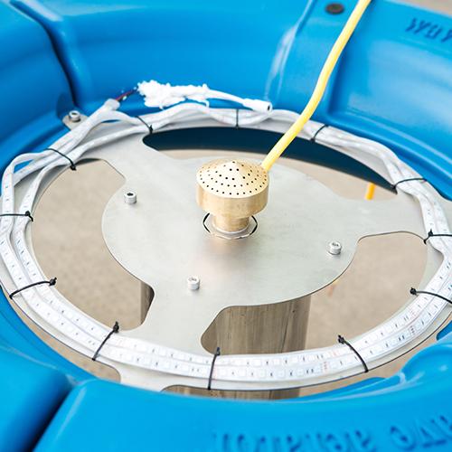 浮水式喷泉曝气机定制