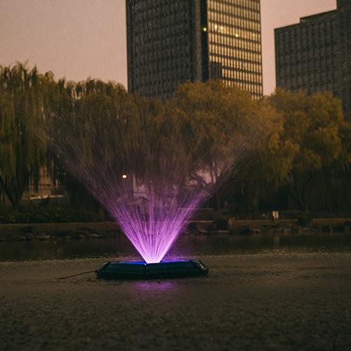 河水喷泉设备