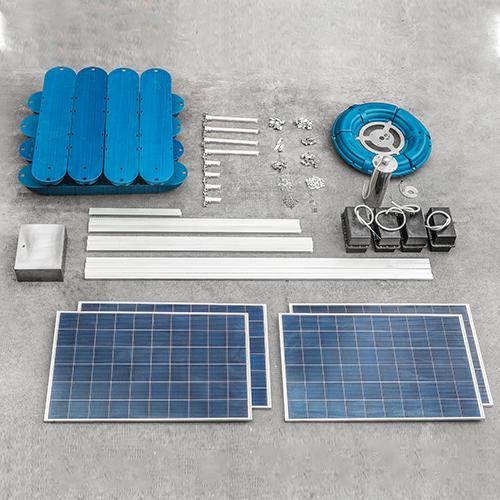 太阳能循环复氧机
